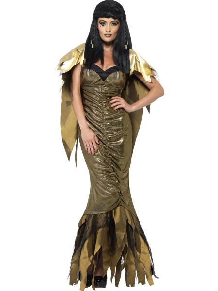 Dámský kostým temné královny starověkého Egypta je odvážnou a zároveň  elegantní volbou c147438f983